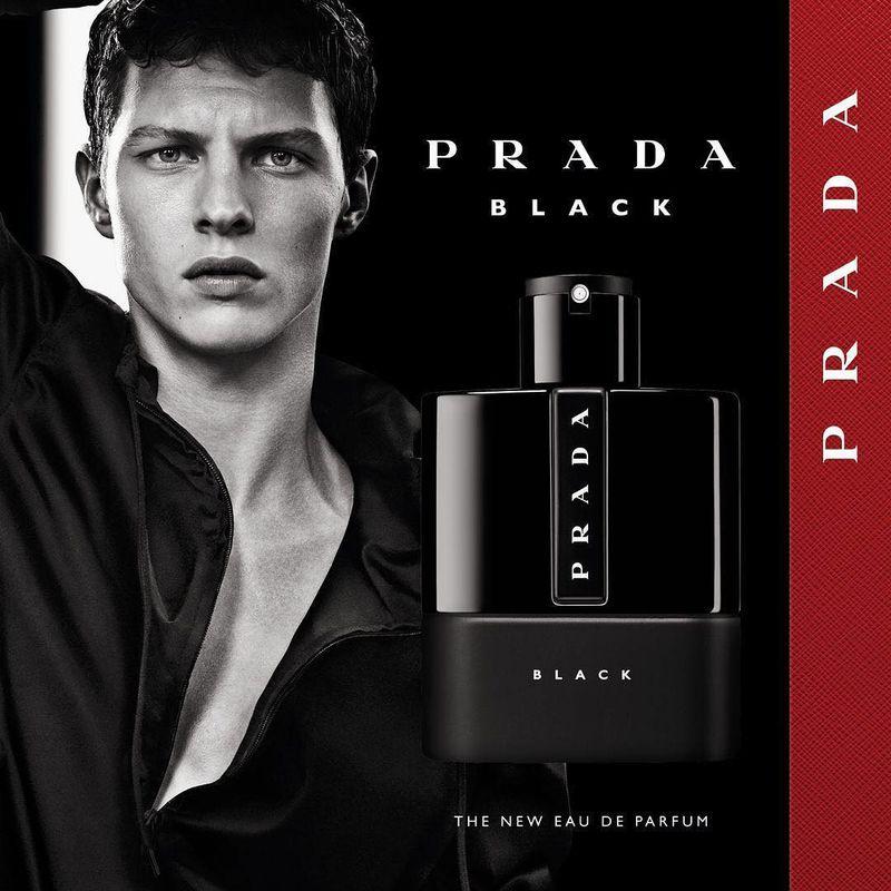 5a53763bfe Luna Rossa Black Prada Fragrance 2018 Campaign (Prada)
