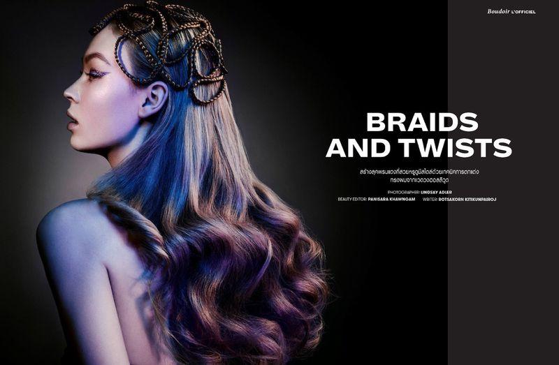 Braids and Twists (L'Officiel Thailand)
