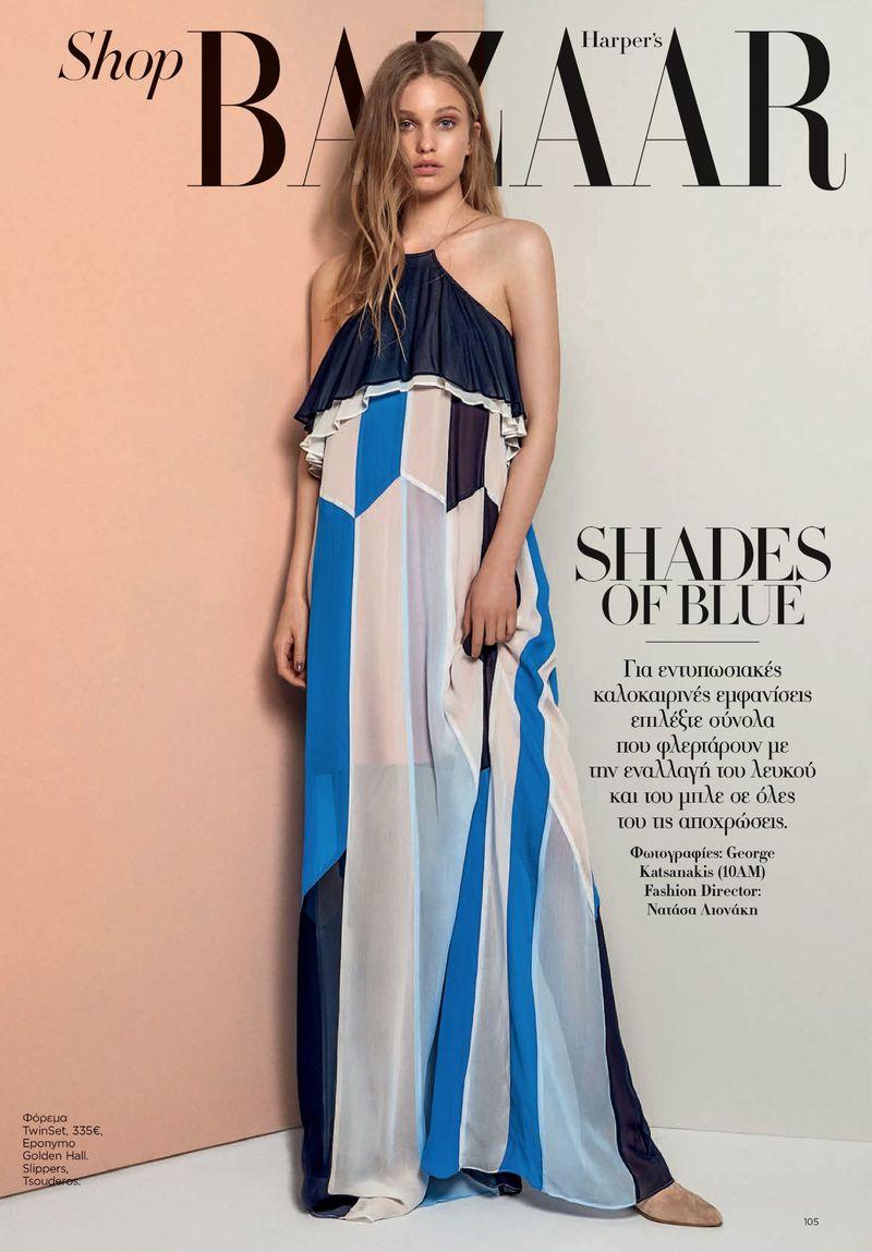 0bfd5409bdc Shades of Blue (Harper's Bazaar Greece)