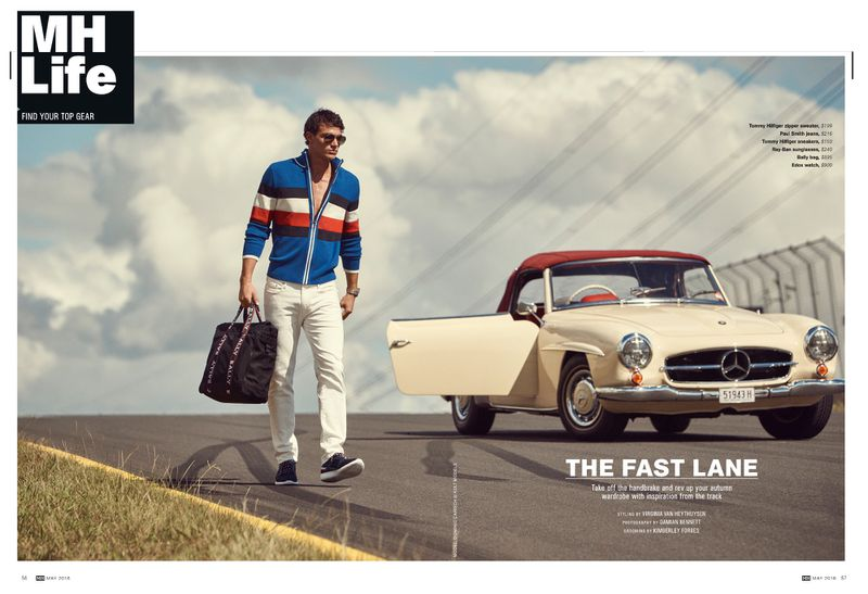 Men's Health Magazine (Australia) - The Fast Lane by Damian