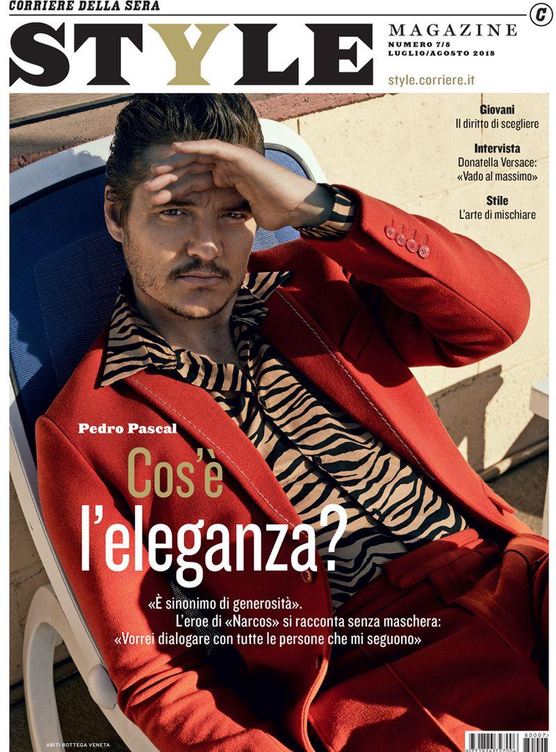 Style Magazine (Italy) JulyAugust 2018 Cover (Style