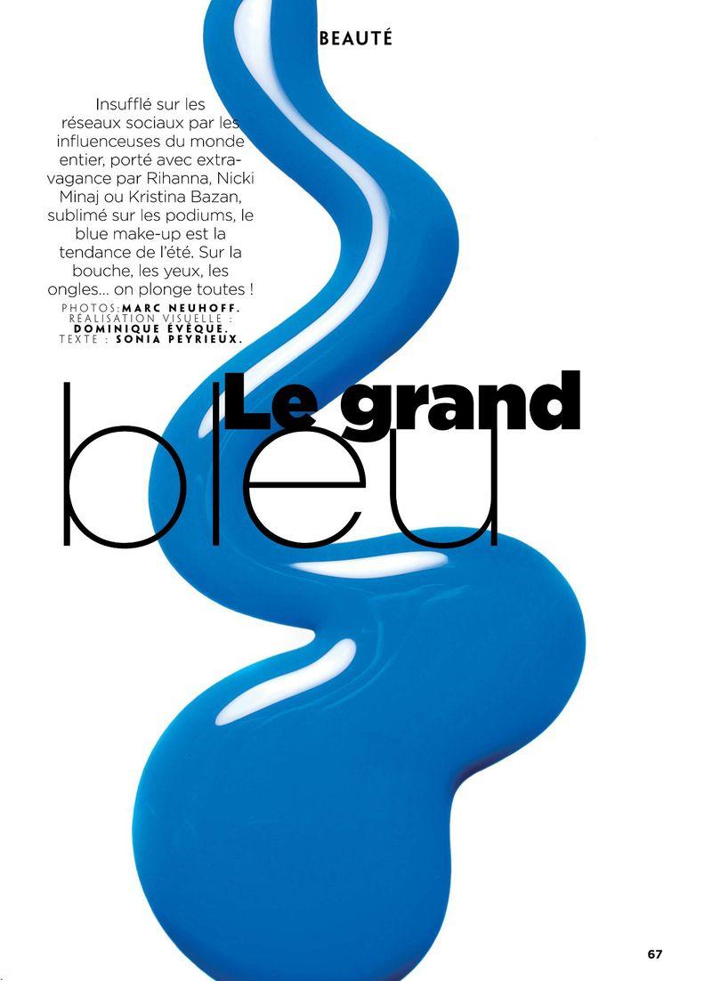 Le Grand Bleu For Gala France By Marc Neuhoff Various