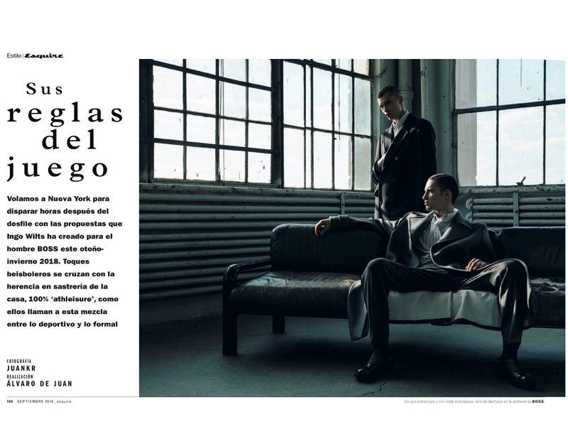Sus Reglas Del Juego Esquire Spain