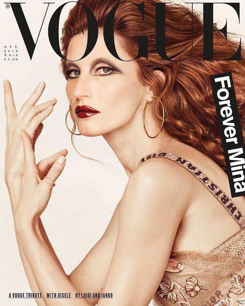 Vogue Italia October 2018 Covers (Vogue Italia)