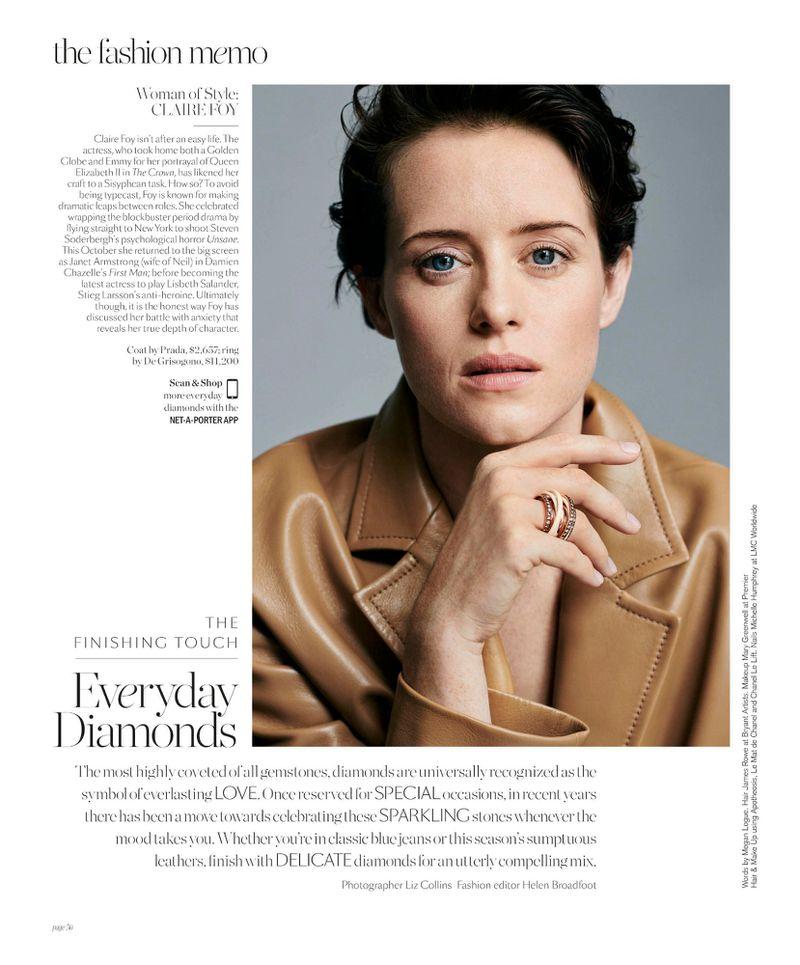Claire Foy Porter Magazine
