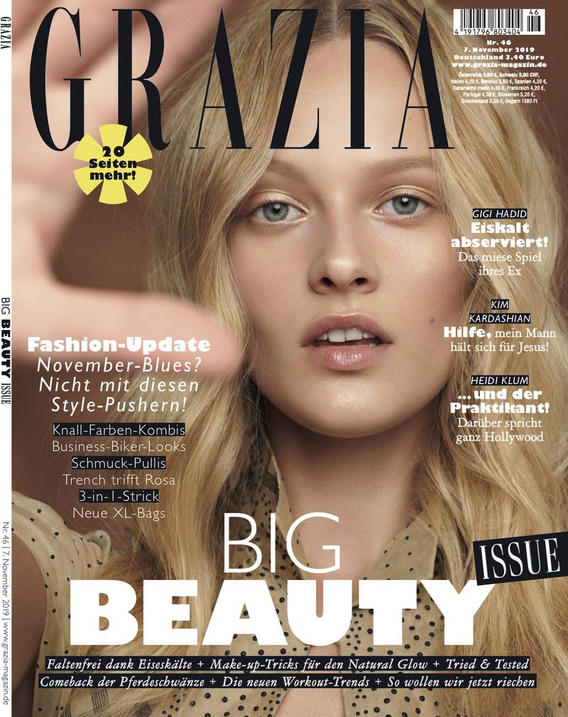 Grazia Germany November 20 Cover Grazia Germany