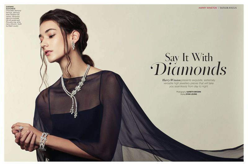 Say it with diamonds (Harry Winston) (Tatler Hong Kong)