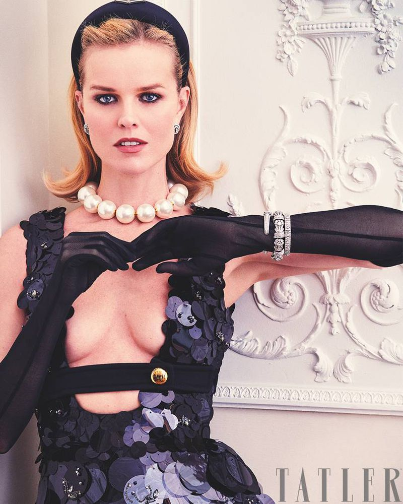 Eva Herzigova is the duchess (Tatler U K )