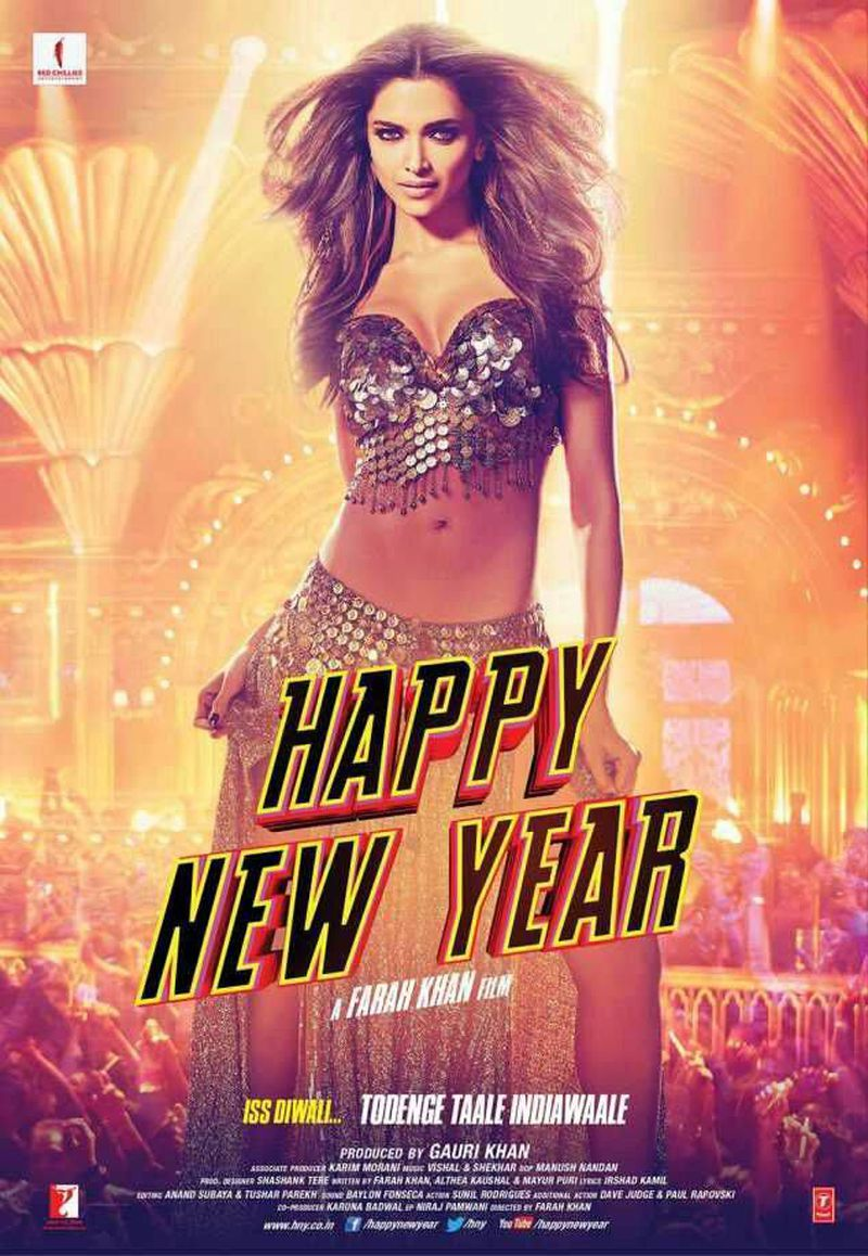 Happy New Year Movie Poster 22