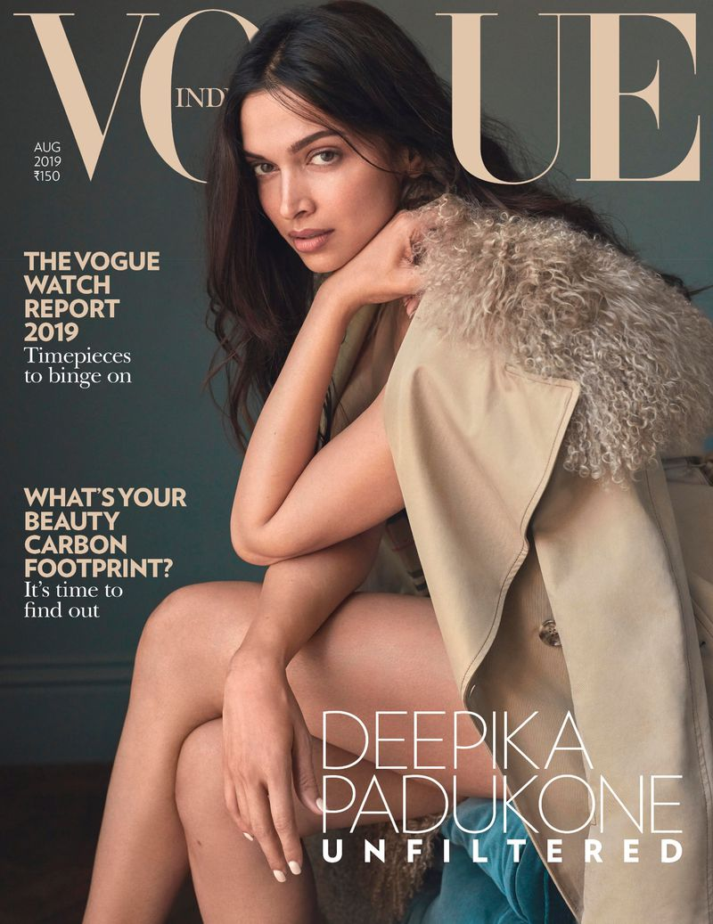 Vogue India August 2019 Cover (Vogue India)