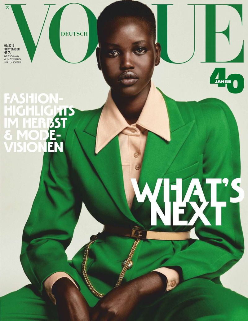 Vogue Germany September 2019 Covers (Vogue Germany)