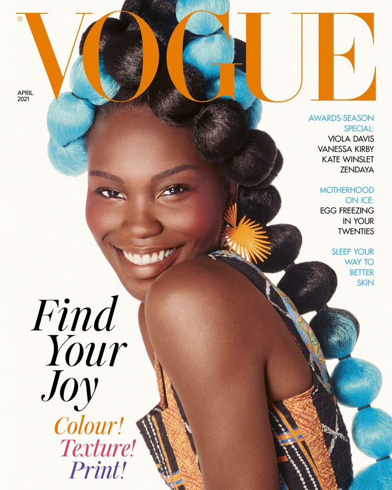 British Vogue April 12 Covers British Vogue