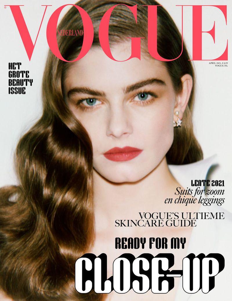 Vogue Netherlands April 12 Cover Vogue Netherlands