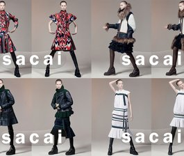 Double Trouble for Sacai FW 15