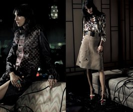 Vogue Japan's Moody Muse