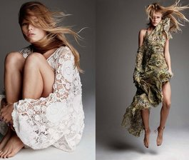 Anna Floats in Vogue Germany