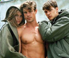 V MAN's Three Lovers