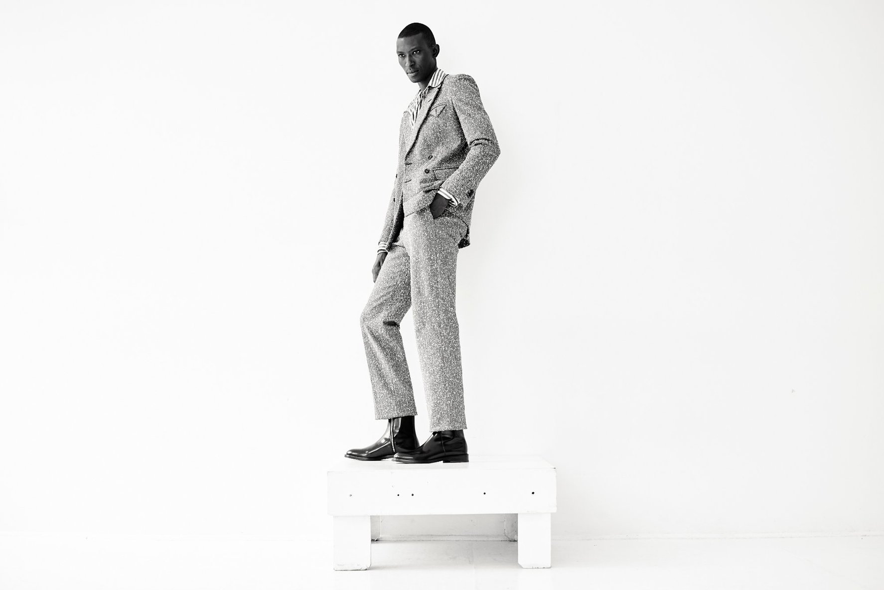 Icon Armando Cabral Puts His Best Foot Forward for Charity