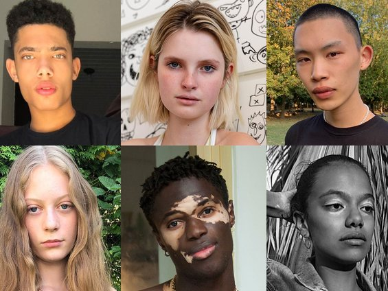 daily duo: These New Faces Want to Be On Your Next Catwalk