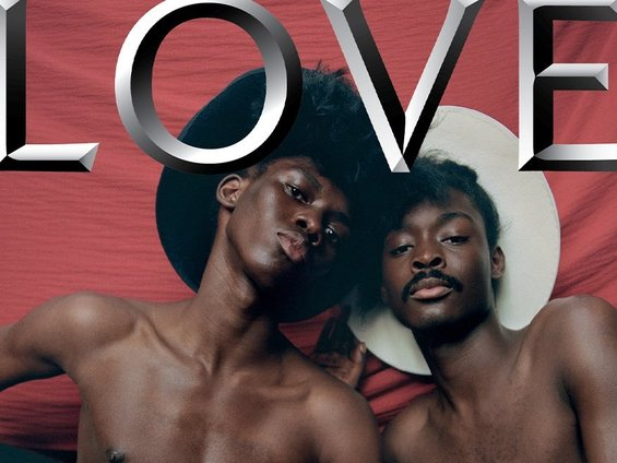 Campbell Addy Reboots for the New Cover of LOVE