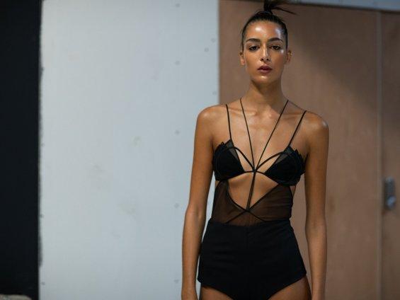 Nensi Dojaka Evolves Her Seductive Silhouette for London Fashion Week