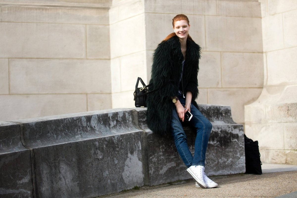 On the Street : PFW A/W 15 Day 1