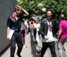 On the Street: PFW Men's S/S 16 pt. 2