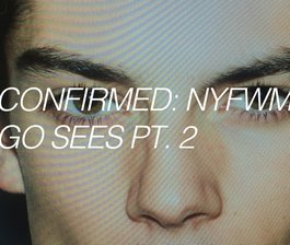 Confirmed: NYFWM F/W 16, Pt. 2