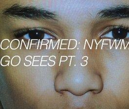 Confirmed: NYFWM F/W 16, Pt. 3