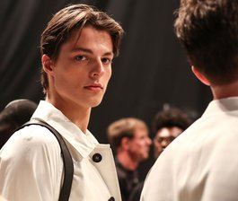 NYFWM S/S 17 Backstage: Todd Snyder