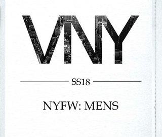 Show Package – New York S/S 18: VNY Models (Men)