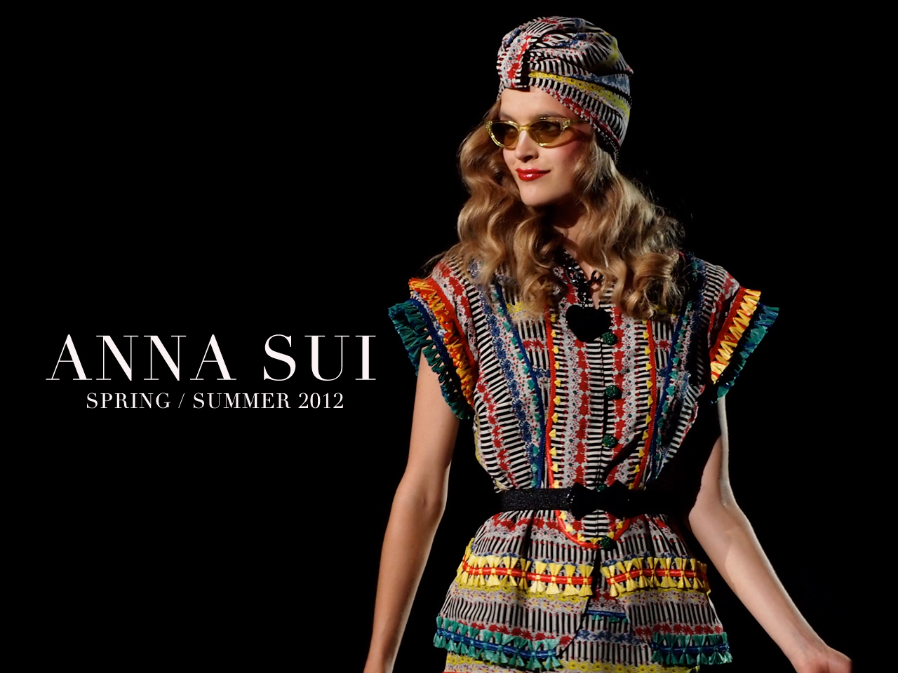 Fashion style Anna sui ss for girls