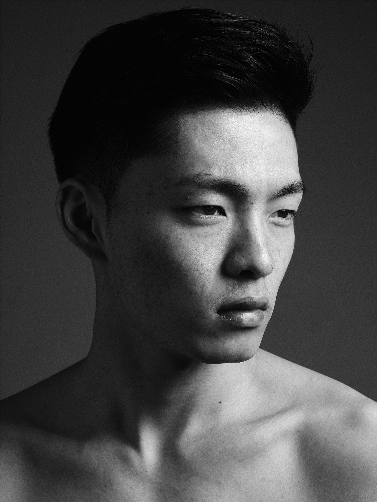 Asian male fashion models