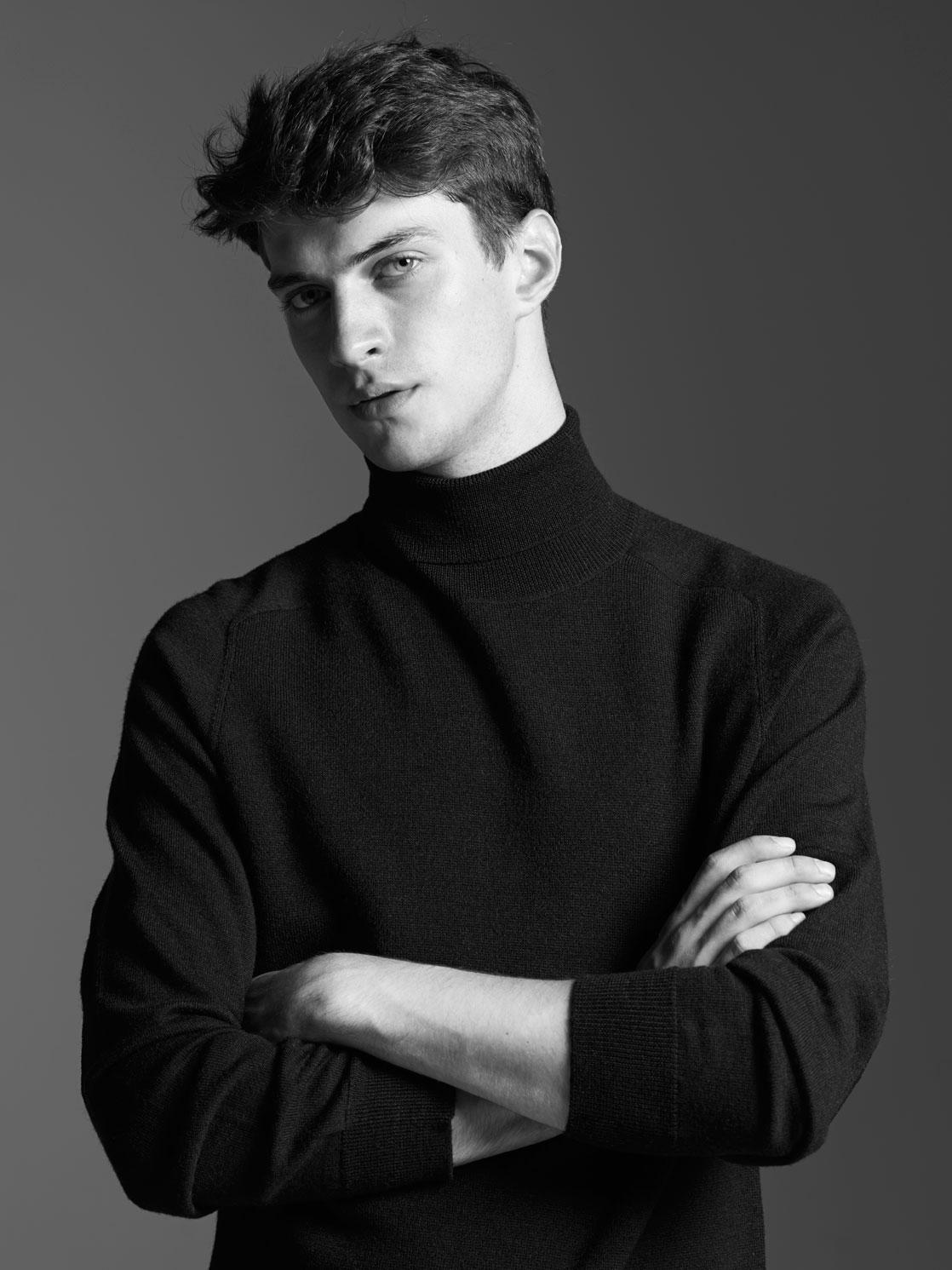 british men models