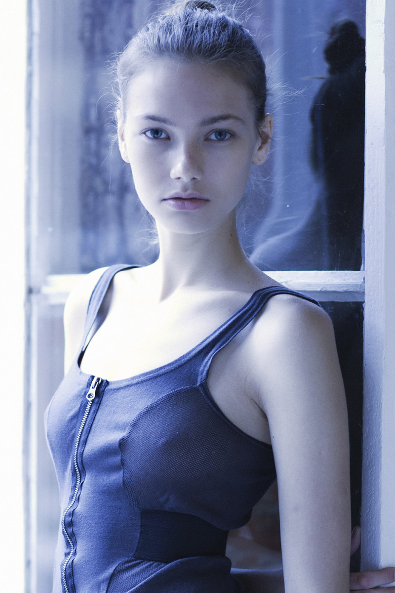 Olga / image courtesy AL Model Management