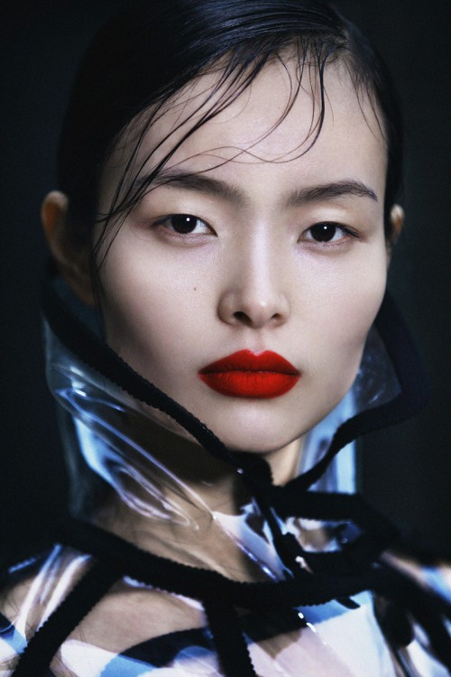 Unexpectedness! Chinese supermodel liu duo sorry