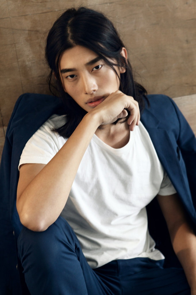 32 Gorgeous Top Male Models with Long Hair - theFashionSpot