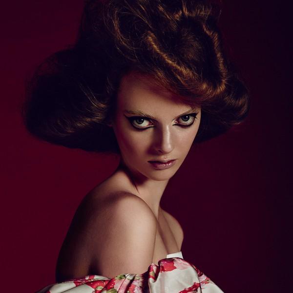 Iris / image courtesy VIA Model Management
