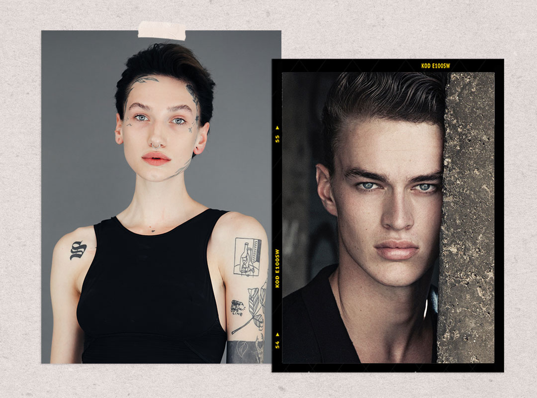 NEWfaces – MODELS com's showcase of the best new faces, edited by