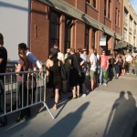 The invite said 7pm. This was the line at 7:15!