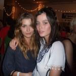Australian beauty Nicole Trunfio (right) with a model friend