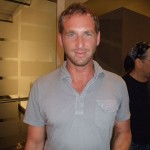 Actor Josh Lucas of Poseidon and Incredible Hulk fame is very nice!