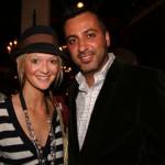 Rassi, owner of Milk Studios with fiancee Zanna