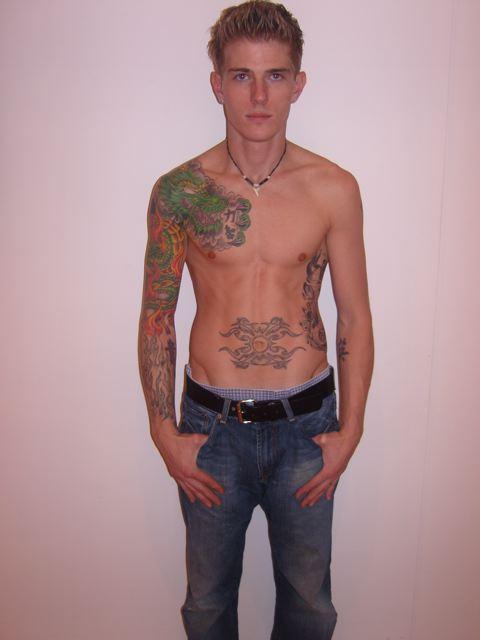 tattoos models star male tattoo face dan tattoed mens young tattooed inked designs continues trend recent devita rob 2008 minute