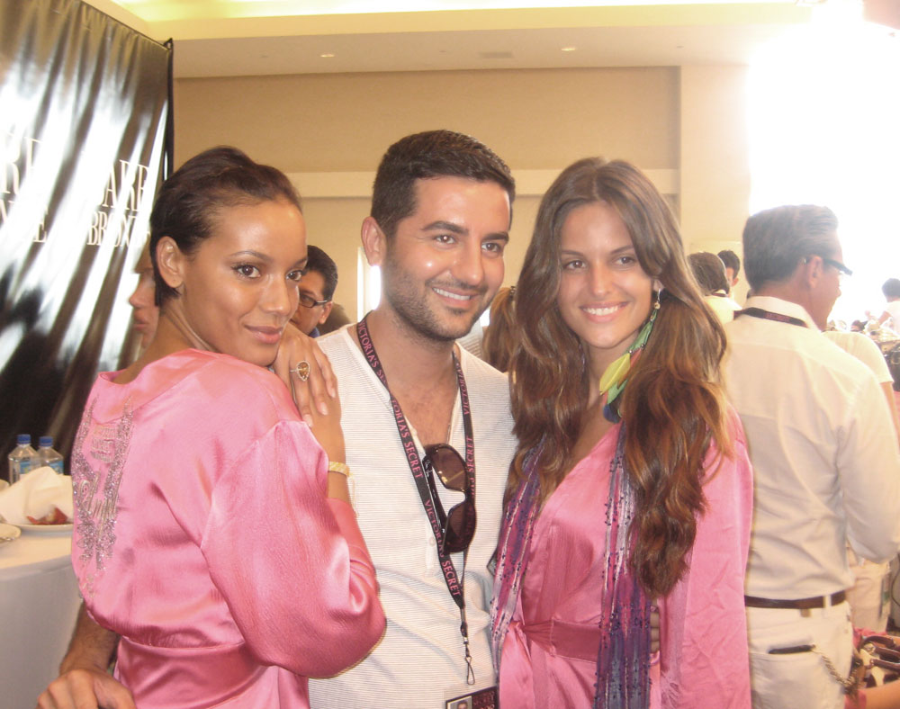 Women Management in the house: Selita/Ali/Izabel. (pic: Matt)