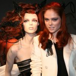 Coco with her mannequin