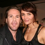 The woman of the hour with her NY agency head, 1 Models' Scott Lipps
