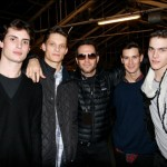 Mr Weir surrounded by the fabulous Louis Prades, Danny Beaucham, Owen Steuart and Vincent LaCroq
