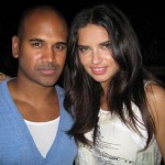Kannon with Angel Adriana Lima