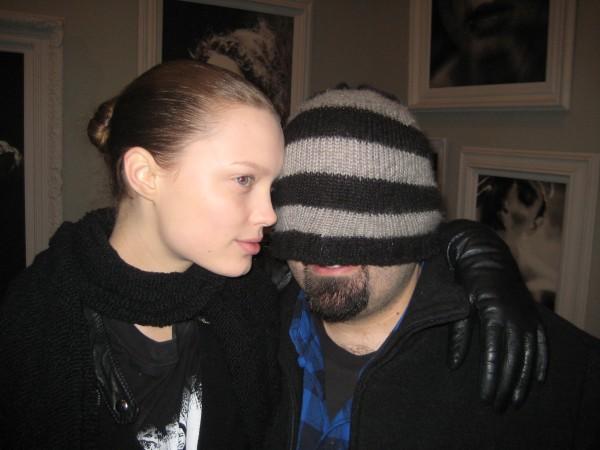 Michael Schwratz playing shy with Naty Chabanenko/Women